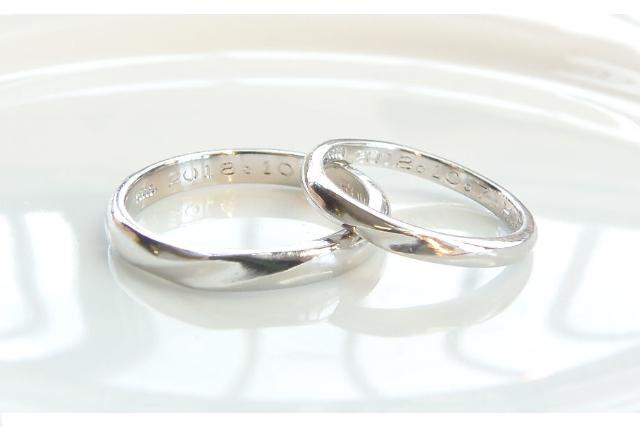 【熊本県・熊本市・手作り指輪】ふたりのアニバーサリーに。手作りペアリング