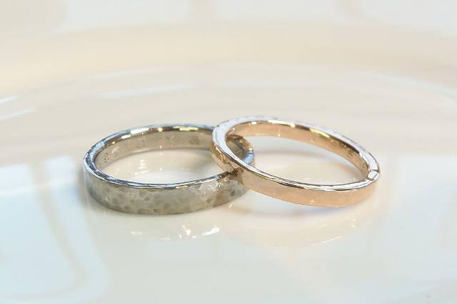 【熊本県・熊本市・手作り指輪】心に残る大切な思い出作り。ふたりで手作り結婚指輪