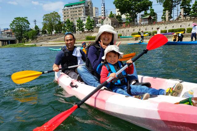 【岡山県・岡山市・カヌー】カヌーエコツアー体験・ショートコース(90分)