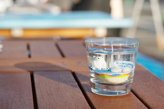 【山梨・富士河口湖・手作りキャンドル】簡単&キレイにできる!ジェルキャンドル1点