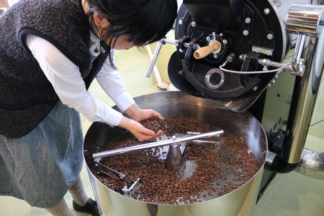 【愛媛・西予・コーヒー入れ方】お好みの焙煎度合いで「MY珈琲」を作る焙煎体験