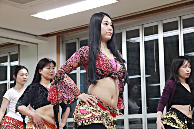 【埼玉・川越・ベリーダンス】楽しく踊ってシェイプアップ!ベリーダンス体験レッスン