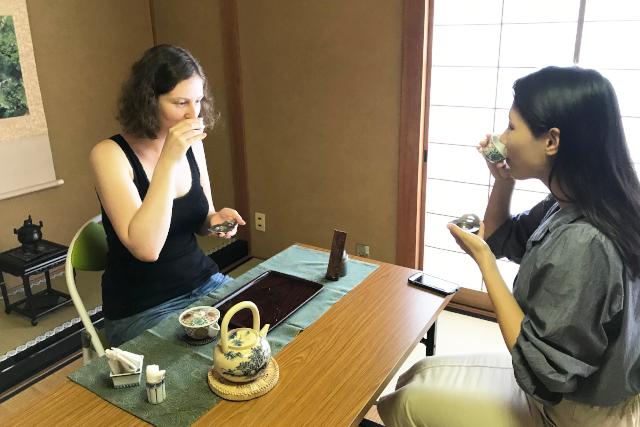 煎茶体験 京茶楽