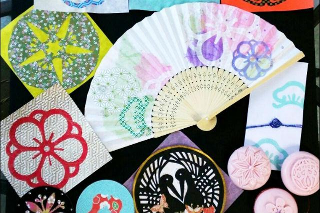 【宮城・松島・紋切り遊び】仙台・七夕の和紙を使用して伝統技法「紋切り遊び」を体験しよう