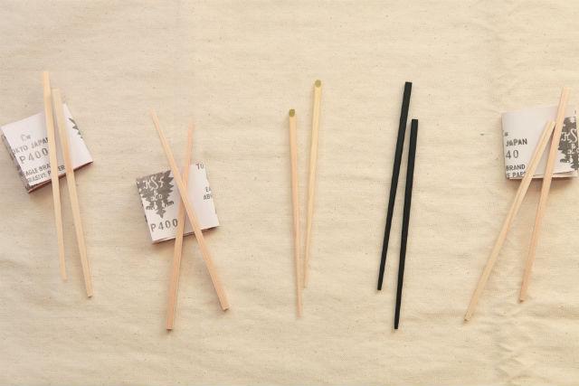 【岡山・倉敷・箸作り体験】国産ひのきを使った箸作り体験!オリジナルのお箸1個