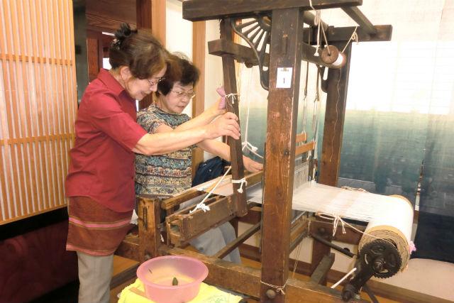 【半日・機織り体験・石川】<30cm>伝統の能登上布が制作できるレア体験!能登部駅から10分!