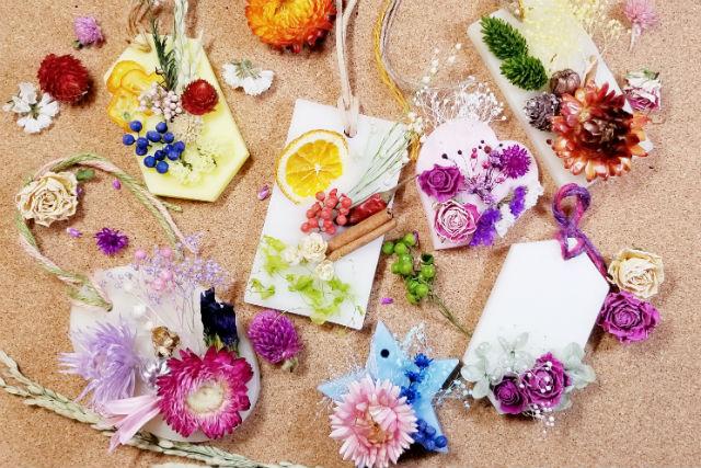 【大阪・堺・手作りキャンドル】ふんわり香って癒されるアロマワックスサシェ作り(2個制作)