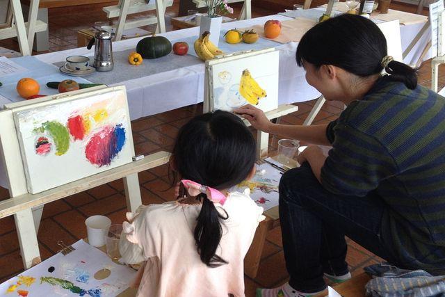 【熊本・南阿蘇村・絵画教室】お子様や初心者さんも大歓迎!気軽に体験できる油絵教室