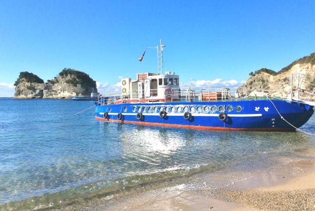 【2.5%還元】【和歌山・白浜・グラスボート】レトロなグラスボートで美しい海底を巡る白浜観光【1名から予約可能】