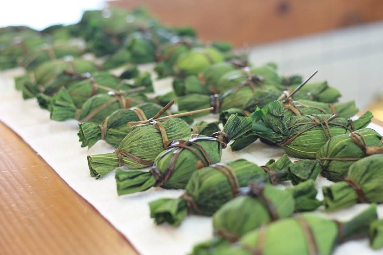 【新潟・十日町・和菓子教室】新潟で愛される伝統食!笹団子作り体験・本格コース