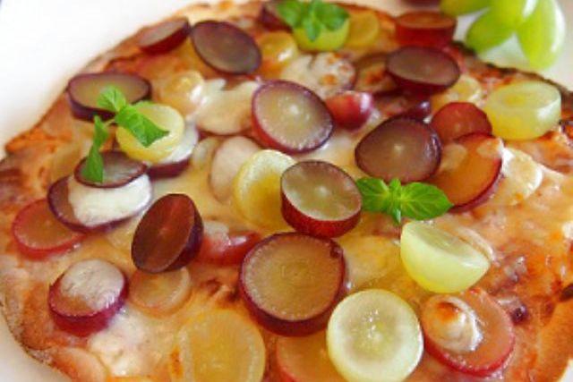 【山梨・八ヶ岳・お菓子作り】ランチにもぴったり!旬の果物でフルーツピザ作り体験