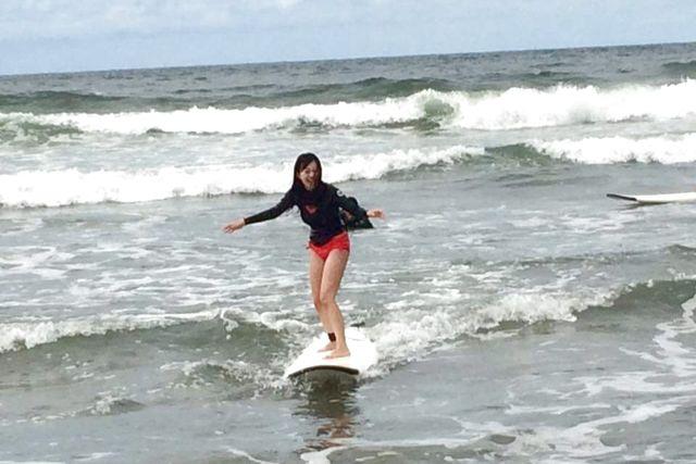【新潟・新発田・サーフィン体験】初心者にオススメ!60分で手軽にサーフィン体験
