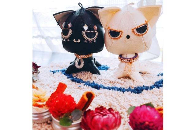 【2.5%還元】【愛知・みよし・人形作り】飾っても可愛いドールチャーム!ミリオンキャット(1個)【1名から予約可能】