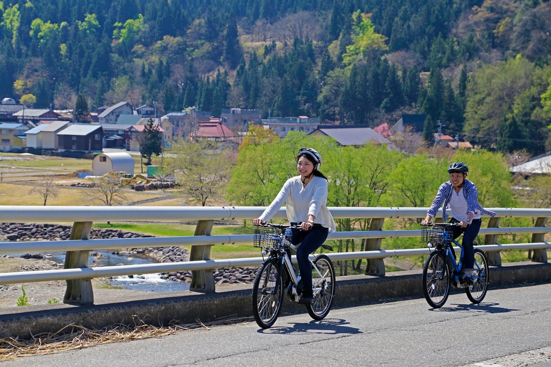 【新潟・十日町・レンタサイクル】電動自転車で里山サイクリング!十日町駅集合プラン