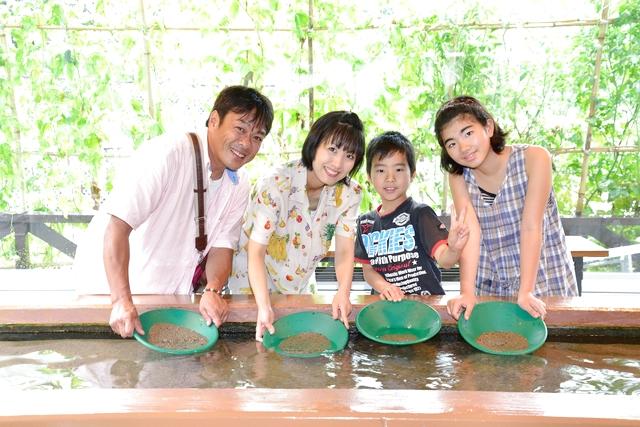 【新潟・佐渡・宝探し】採った砂金を当日加工!平安時代より続く西三川で砂金とり体験