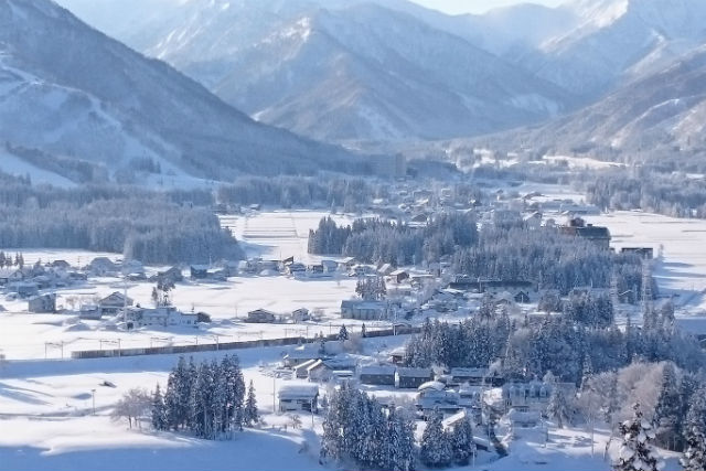 【新潟・湯沢・観光タクシー】冬の観光スポットを楽々巡る!タクシープラン・定員2名