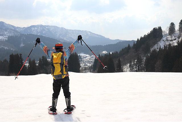 【2.5%還元】【新潟・村上・スノートレッキング】自然を大満喫しよう!スノートレッキング体験【1名から予約可能】