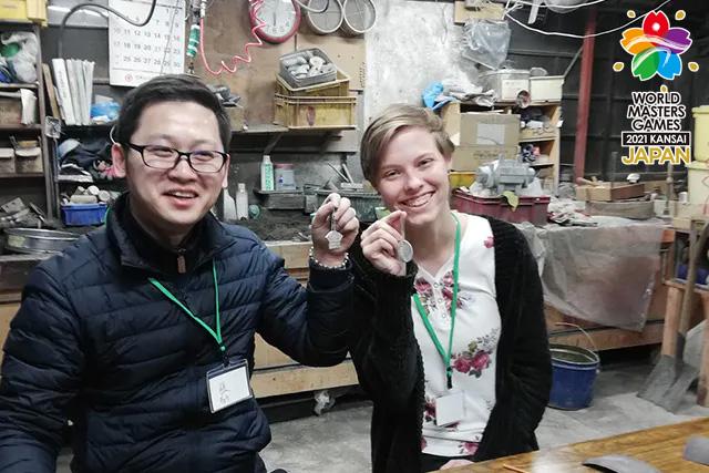 【2.5%還元】【大阪・東大阪・手作り雑貨】金メダル制作体験プログラム 大事なあの人にオリジナル金メダルで表彰を!【1名から予約可能】