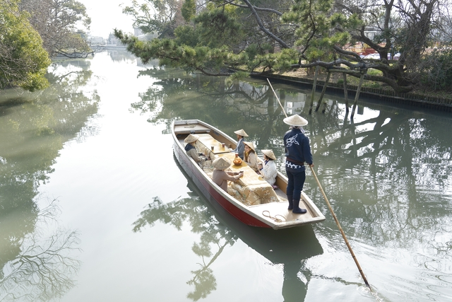 柳川川下り「松月乗船場」