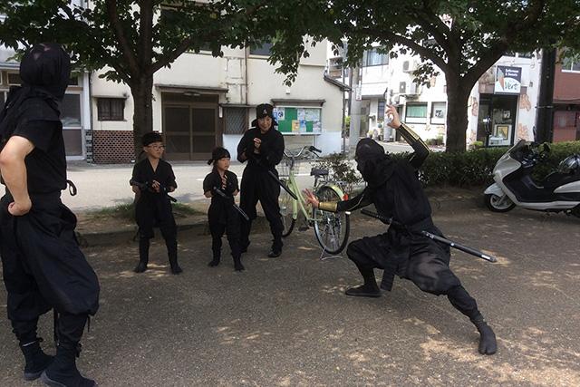 【兵庫・姫路・忍者】世界遺産姫路城でする忍者体験
