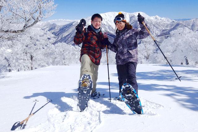 【2.5%還元】【新潟・湯沢・スノーシュー】雪上探検ピクニックに出かけよう!スノーシューツアー【1名から予約可能】