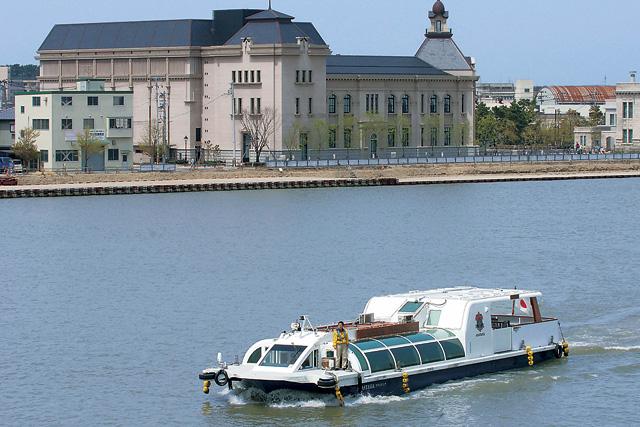 【新潟県・新潟市・水上バス】水の都を楽しく巡ろう!ちょっと素敵な快適クルーズ