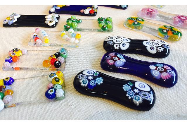 【新潟市・ガラス工房・2個制作】食卓を彩る可愛いガラス細工を作ろう!箸置き