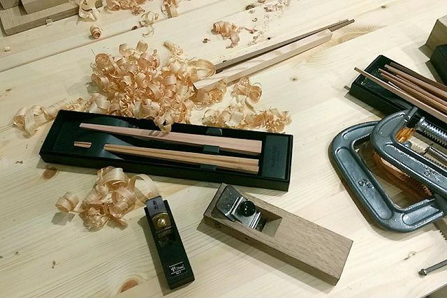 【新潟・三条・箸作り体験】今日から食卓にマイ箸!職人の町で八角箸作り体験(2膳)