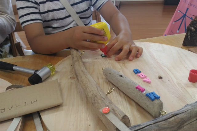【新潟県・新潟市・木工教室】インテリアにもぴったり!自由に作る流木アート(1個)