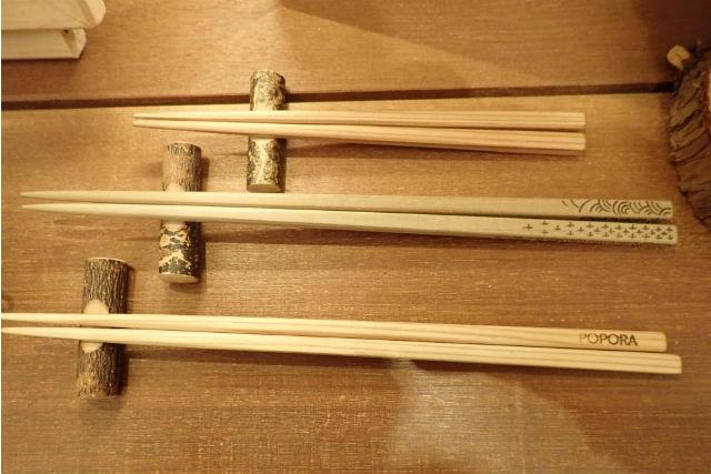 【新潟・十日町・箸作り体験】使うほどに愛着がわく!自分だけの木製箸作り(1膳)