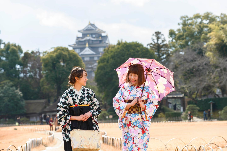 【岡山・岡山市・着物レンタル】日本の伝統文化を感じよう!着物・浴衣レンタルプラン