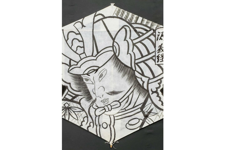 【新潟・三条・日本の伝統文化】江戸時代創業の老舗で凧作り体験!5枚張六角巻凧1枚