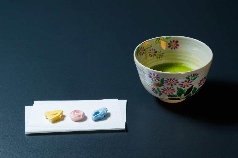 【京都市・茶道】素敵なお茶の世界へようこそ!お抹茶&お干菓子作り体験