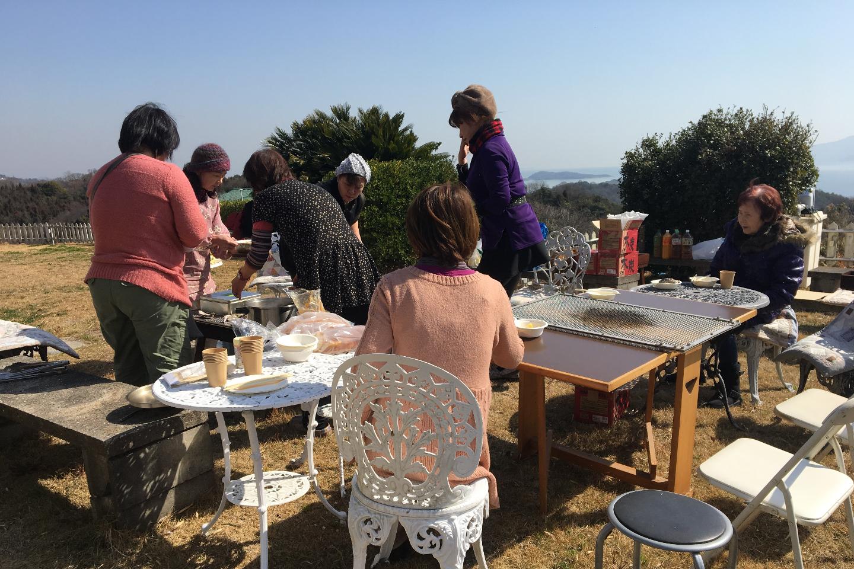 【岡山・牛窓・BBQレンタル】瀬戸内海と小豆島を眺めながらお好きな食材でBBQを楽しもう♪(レンタルスペースコース)
