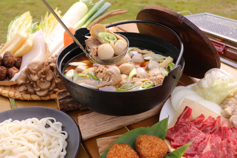 【宮城・仙台・郷土料理】2種類の芋煮とBBQを楽しむ贅沢プラン!仙山セット