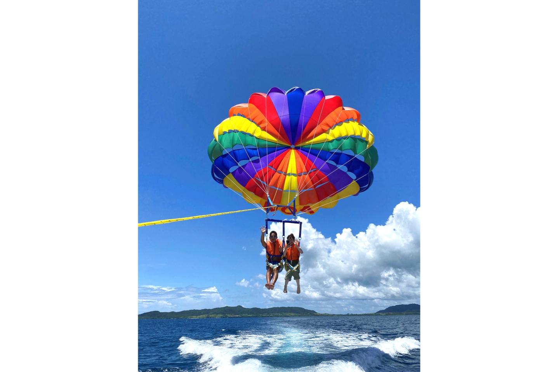 【150mコース】石垣島・パラセーリング・美ら海を上空から堪能パラセーリング体験