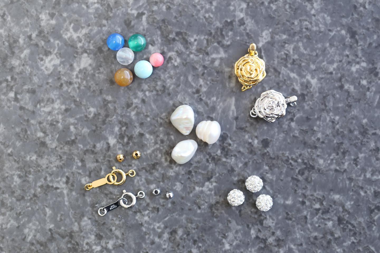 【三重・伊勢志摩・手作りアクセサリー】淡水真珠のオリジナルアクセサリー作り体験!