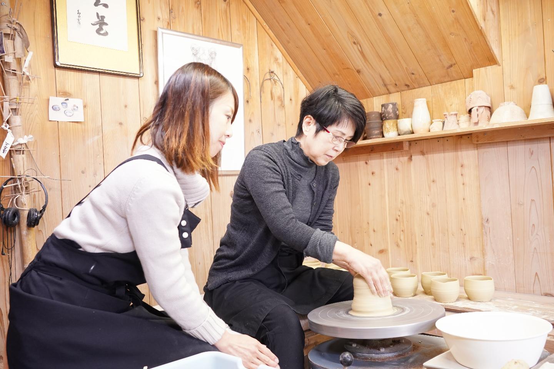 【山口・萩・陶芸体験】1日たっぷり陶芸が出来る!レンタルアトリエ1日コース