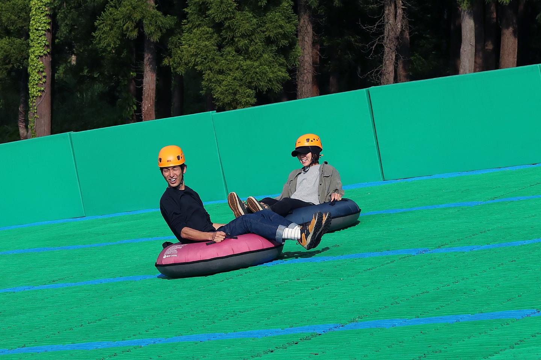 【新潟・妙高・チュービング】大迫力の滑走!190mチュービング3回券