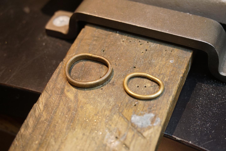 【新潟県・新潟市・シルバーアクセサリー手作り】一からリング作りを楽しもう!1個