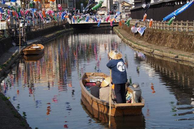 蔵の街遊覧船・待合処