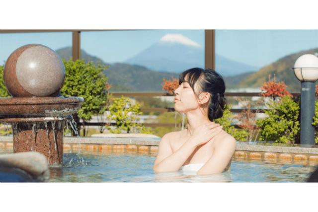 ワオチケ!【土日祝・最大25%割引】ニュー八景園 日帰り入浴クーポン(タオル、バスタオル、浴衣付)