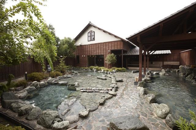 【最大300円割引】おがわ温泉 花和楽の湯 クーポン(入館料+岩盤浴)