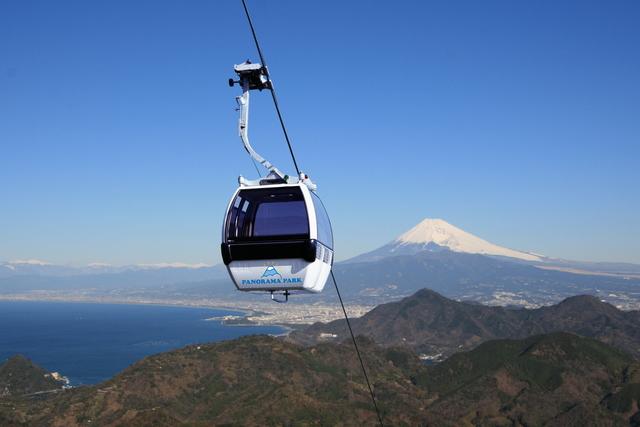 ※4/29より利用可【県民限定割購入翌日から利用可】絶景富士見テラスロープウェイ往復券