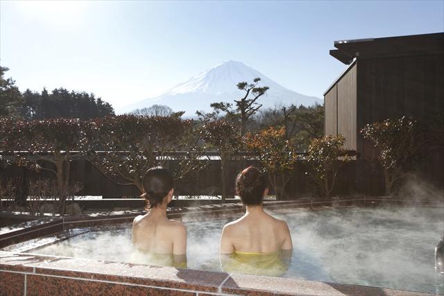 【女性・平日限定・500円割引】富士眺望の湯ゆらり・レディースプラン