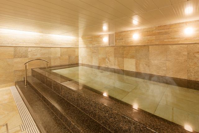 【平日・100円割引】京都タワー 大浴場 クーポン(入浴料+レンタルバスタオル)