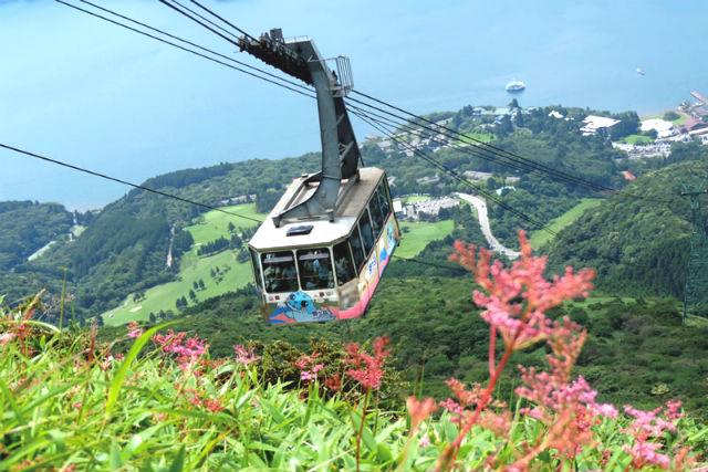 【10%割引】箱根駒ケ岳ロープウェー クーポン(往復券)