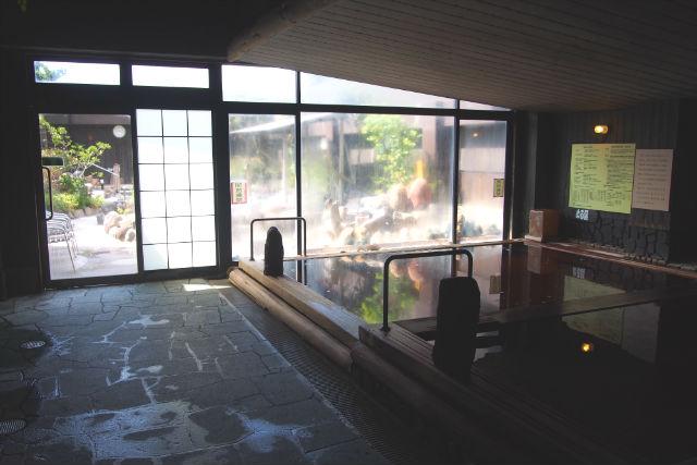 【土日祝限定・朝入館(~12時)】明神の湯 クーポン(入館料+フェイスタオル)