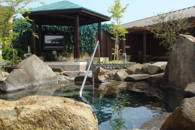 【土日祝・10%割引】天然温泉 湯花楽厚木店 クーポン(入館セット)