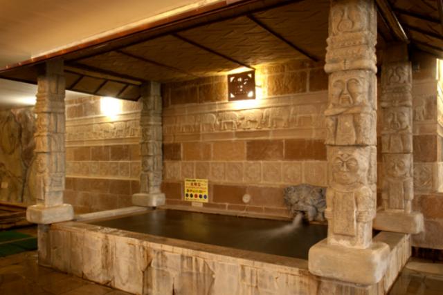 入浴セット(岩盤浴も利用可)【240円割引】天然温泉ゆの郷 spa nusa dua